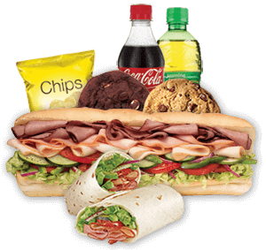 Subway Subs, Wraps and Flatbreads